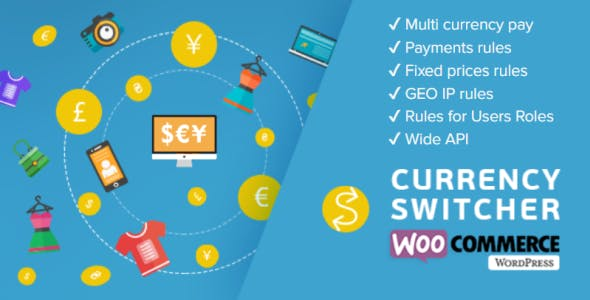 WooCommerce Currency Switcher v2.2.7.1 Plugin for WooCommerce