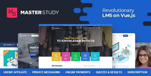 Masterstudy – Education WordPress Theme