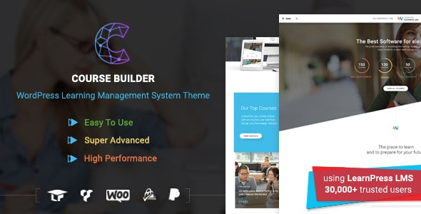 LMS WordPress Theme for Online Courses, Schools & Education | Course Builder LMS