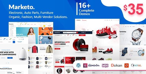 Marketo – eCommerce & Multivendor Marketplace Woocommerce WordPress Theme