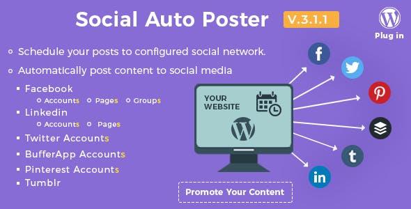 Social Auto Poster – WordPress Plugin