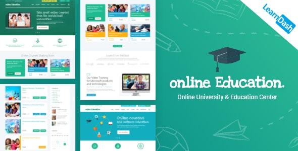 Education Center – Training Courses WordPress Theme
