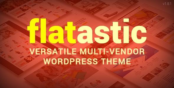 Flatastic – Versatile Multi Vendor WordPress Theme
