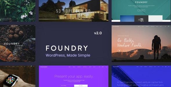 Foundry – Multipurpose – Multi-Concept WP Theme