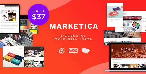 Marketica – eCommerce and Marketplace – WooCommerce WordPress Theme
