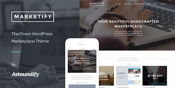 Marketify – Digital Marketplace WordPress Theme eCommerce