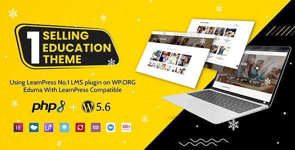 EDUMA – Education WordPress Theme – Education WP