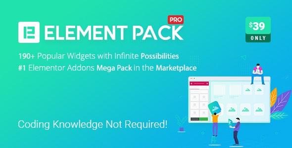 Element Pack Pro – Addon for Elementor Page Builder WordPress Plugin