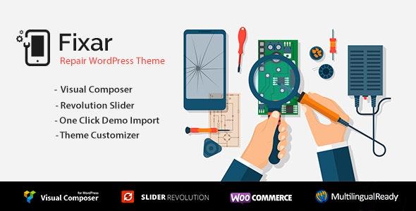 Fixar – Phone & Computer Repair Theme