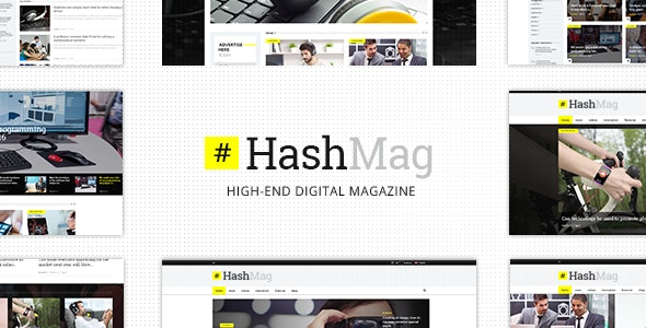 HashMag – Magazine & News Theme