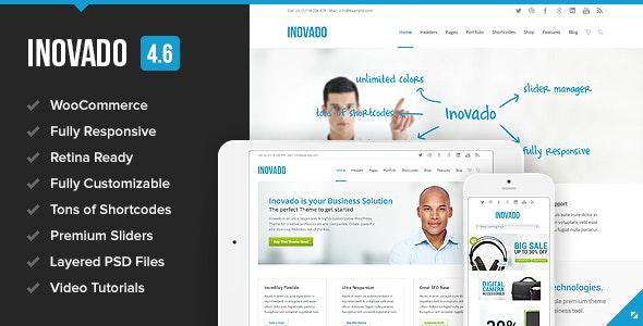 Inovado – Retina Responsive Multi-Purpose Theme