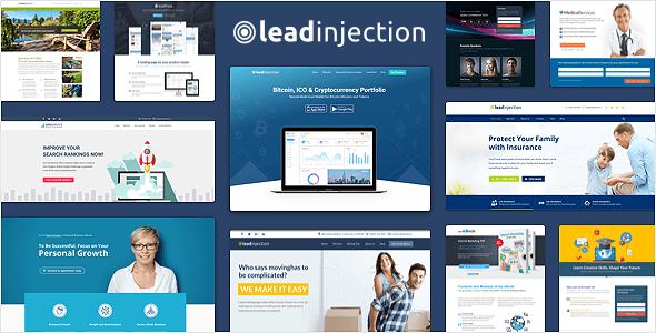 Leadinjection – Landing Page Theme