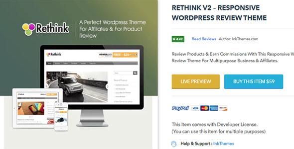 RETHINK V2 – Responsive WordPress Review Theme