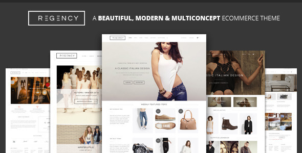 Regency – A Beautiful & Modern Ecommerce Theme WooCommerce