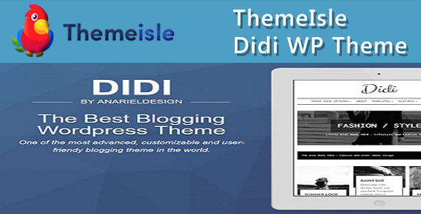 ThemeIsle Didi WordPress Theme