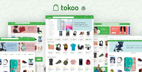 Tokoo – Electronics Store WooCommerce Theme for Affiliates, Dropship and Multi-vendor Websites