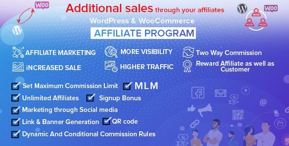 WordPress – WooCommerce Affiliate Program With MLM