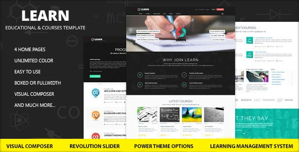 Learn – Education – eLearning WordPress Theme