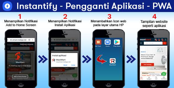 Instantify – Pengganti Aplikasi – PWA & Google AMP & Facebook Instant Articles for WordPress