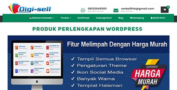 Website Toko Online Khusus Jualan produk digital