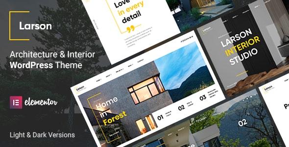 Larson – Architecture WordPress Theme